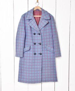 古着織り総柄 ロングコート 古着のネット通販 古着屋グレープフルーツムーン