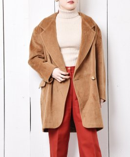 古着イタリア製 「Max Mara」カシミア混ウールコート 古着のネット通販 古着屋グレープフルーツムーン