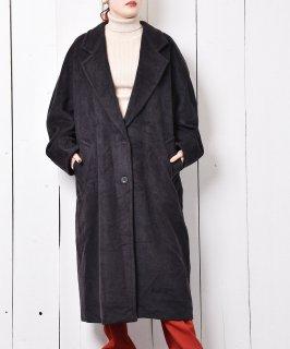 古着イタリア製 「Max Mara」ロングチェスターコート 古着のネット通販 古着屋グレープフルーツムーン