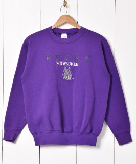 古着アメリカ製 Milwaukee Bucks 刺繍スウェット 古着のネット通販 古着屋グレープフルーツムーン