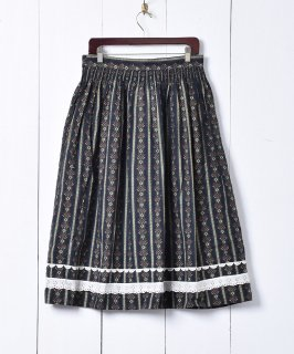 古着ヨーロッパ製 チロルスカート 古着のネット通販 古着屋グレープフルーツムーン