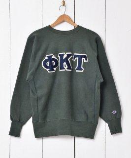 古着90年代「Champion」 リバースウィーブ カレッジ スウェットシャツ 古着のネット通販 古着屋グレープフルーツムーン