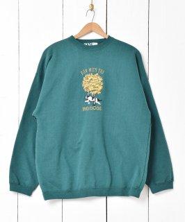 古着刺繍デザイン ビッグシルエット スウェットシャツ 古着のネット通販 古着屋グレープフルーツムーン