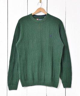 古着「CHAPS RALPH LAUREN」ローゲージ  クルーネック セーター 古着のネット通販 古着屋グレープフルーツムーン