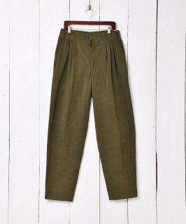 古着スペイン製 ワイドタックパンツ  古着のネット通販 古着屋グレープフルーツムーン