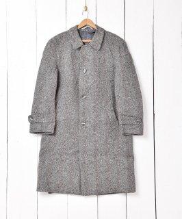 古着ヘリンボーンツイード コート 古着のネット通販 古着屋グレープフルーツムーン