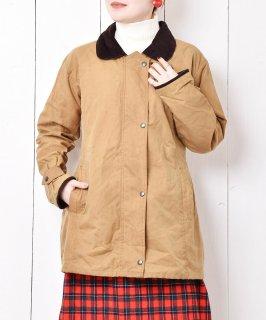 古着丸襟 オイルドジャケット キャメル 古着のネット通販 古着屋グレープフルーツムーン