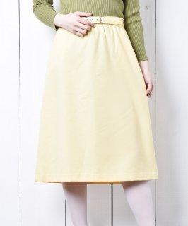 古着ベルト付き セミタイトスカート 古着のネット通販 古着屋グレープフルーツムーン