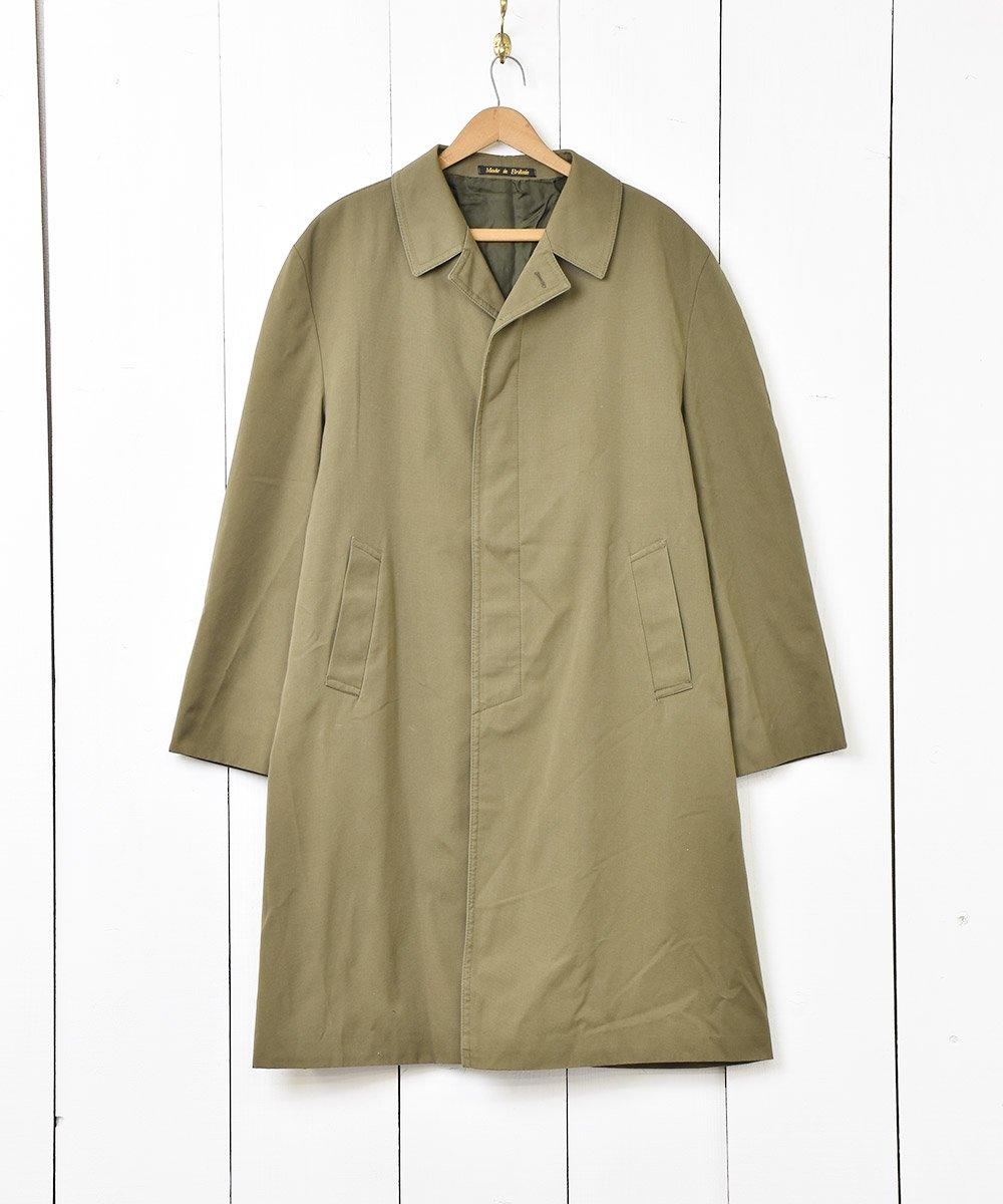 古着 イギリス製 ステンカラーコート 古着 ネット 通販 古着屋グレープフルーツムーン