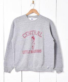 古着アメリカ製 「CENTRAL LITTLE MAROONS」カレッジプリントスウェットシャツ 古着のネット通販 古着屋グレープフルーツムーン