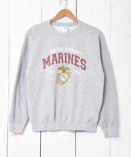 古着Marines ロゴプリントスウェット 古着のネット通販 古着屋グレープフルーツムーン