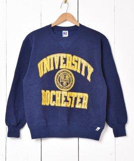 古着アメリカ製 ロチェスター大学 カレッジプリントスウェット 古着のネット通販 古着屋グレープフルーツムーン