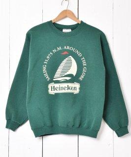 古着Heineken 企業ロゴスウェット 古着のネット通販 古着屋グレープフルーツムーン