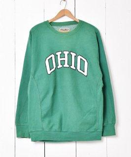 古着オハイオ州立大学 カレッジパッチスウェット 古着のネット通販 古着屋グレープフルーツムーン