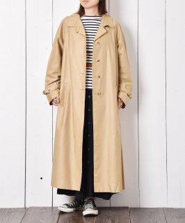 古着チンストラップ付 ステンカラーコート 古着のネット通販 古着屋グレープフルーツムーン