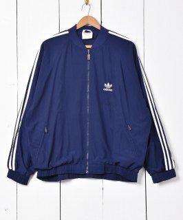 古着「adidas」ピーチスキン調 ジョグトップ 古着のネット通販 古着屋グレープフルーツムーン
