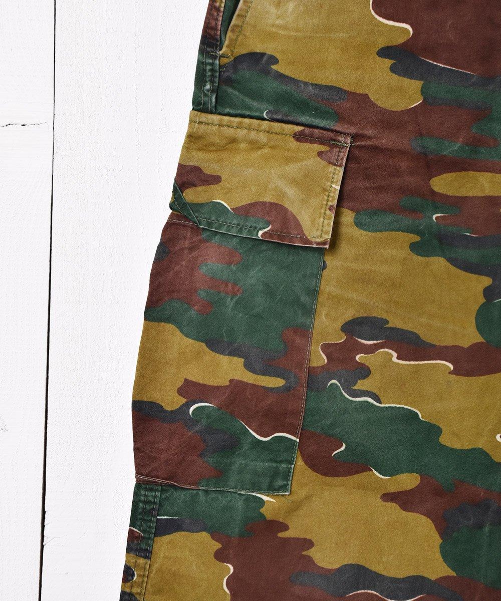 W34 ベルギー軍 ジグソーカモフィールドカーゴパンツ サムネイル