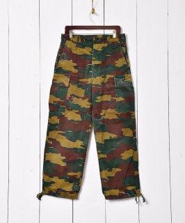 古着W34 ベルギー軍 ジグソーカモフィールドカーゴパンツ  古着のネット通販 古着屋グレープフルーツムーン