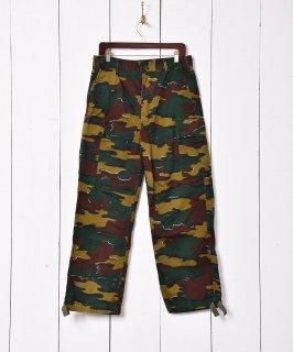 古着W33 ベルギー軍 ジグソーカモフィールドカーゴパンツ 古着のネット通販 古着屋グレープフルーツムーン