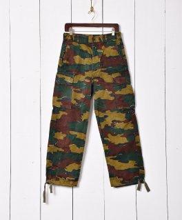 古着W31 ベルギー軍 ジグソーカモフィールドカーゴパンツ 古着のネット通販 古着屋グレープフルーツムーン