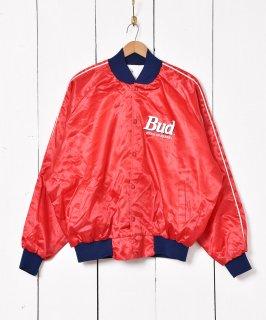 古着アメリカ製 Budweiser プリント ナイロンジャケット 古着のネット通販 古着屋グレープフルーツムーン