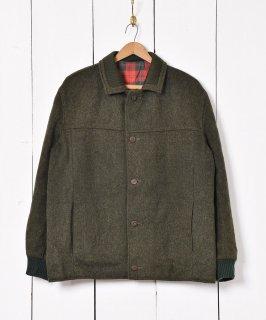 古着ヨーロッパ製 アルパカ混 ローデンクロス ブルゾン 古着のネット通販 古着屋グレープフルーツムーン