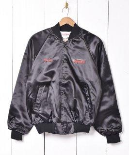 古着アメリカ製 「Tazmanian Freight Systems 」刺繍 ナイロンスタジアムジャケット 古着のネット通販 古着屋グレープフルーツムーン