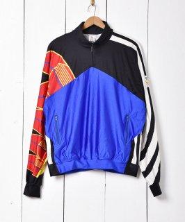 """古着80〜90年代 ヨーロッパ製 """"adidas""""  ハーフジッププルオーバー 古着のネット通販 古着屋グレープフルーツムーン"""