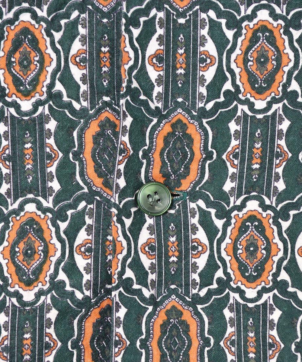 イギリス製 総柄パジャマシャツサムネイル