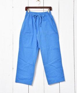 古着イージーベイカーパンツ ブルー 古着のネット通販 古着屋グレープフルーツムーン