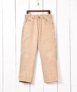古着「Dickies」ダック地 ペインターパンツ ベージュ 古着のネット通販 古着屋グレープフルーツムーン