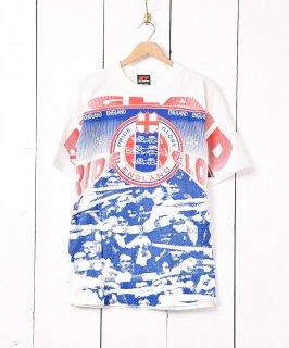 古着イングランド製 PRIDE GLORY プリントTシャツ 古着のネット通販 古着屋グレープフルーツムーン
