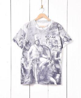 古着ギリシャ製 転写プリント Tシャツ 古着のネット通販 古着屋グレープフルーツムーン