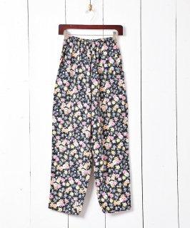 古着ヨーロッパ製 花柄 イージーパンツ 古着のネット通販 古着屋グレープフルーツムーン