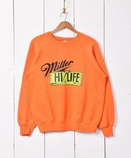 古着miller ロゴプリントスウェット 古着のネット通販 古着屋グレープフルーツムーン