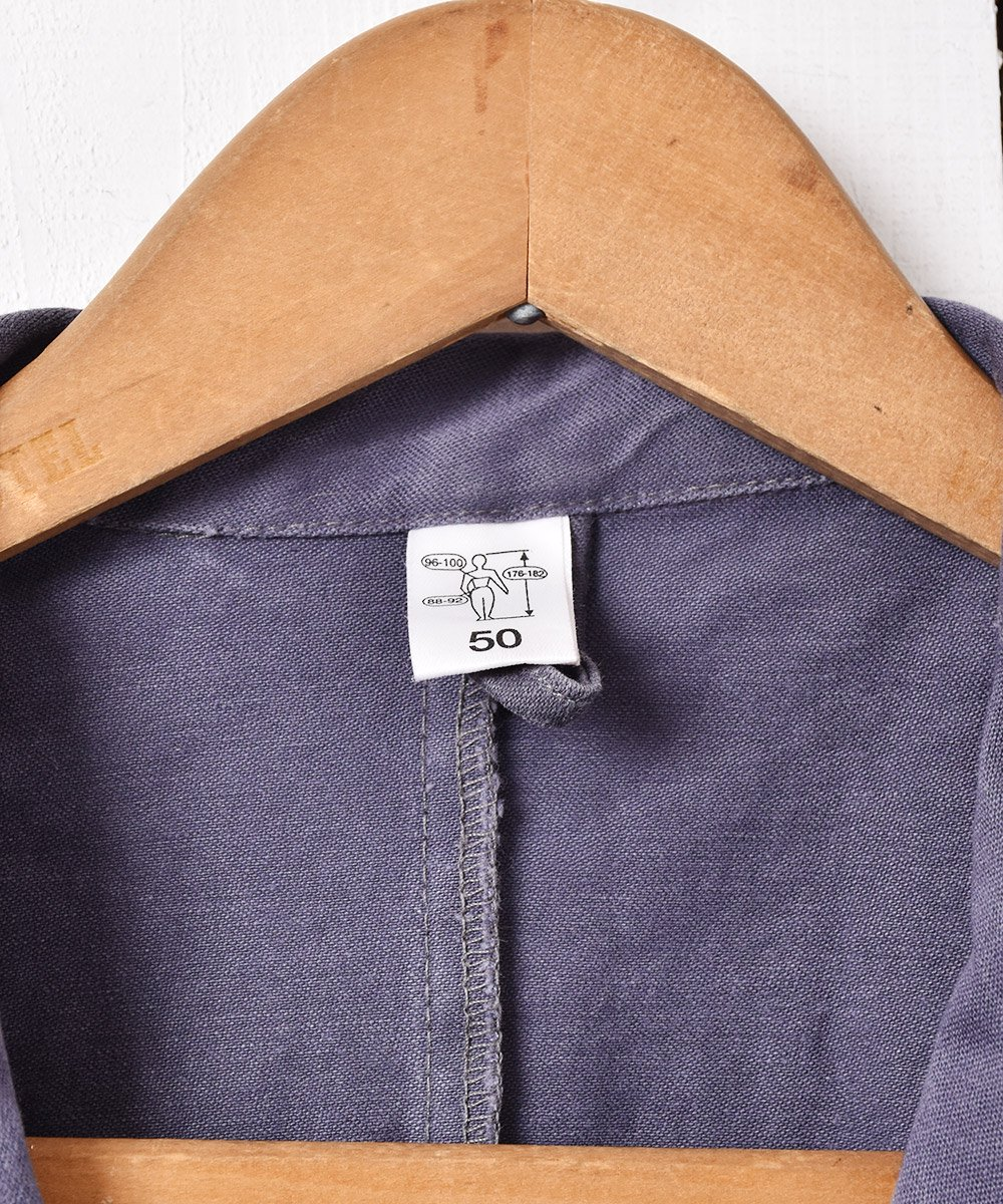 ヨーロッパ製 ワークコート グレー系サムネイル