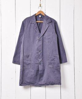 古着ヨーロッパ製 ワークコート グレー系 古着のネット通販 古着屋グレープフルーツムーン
