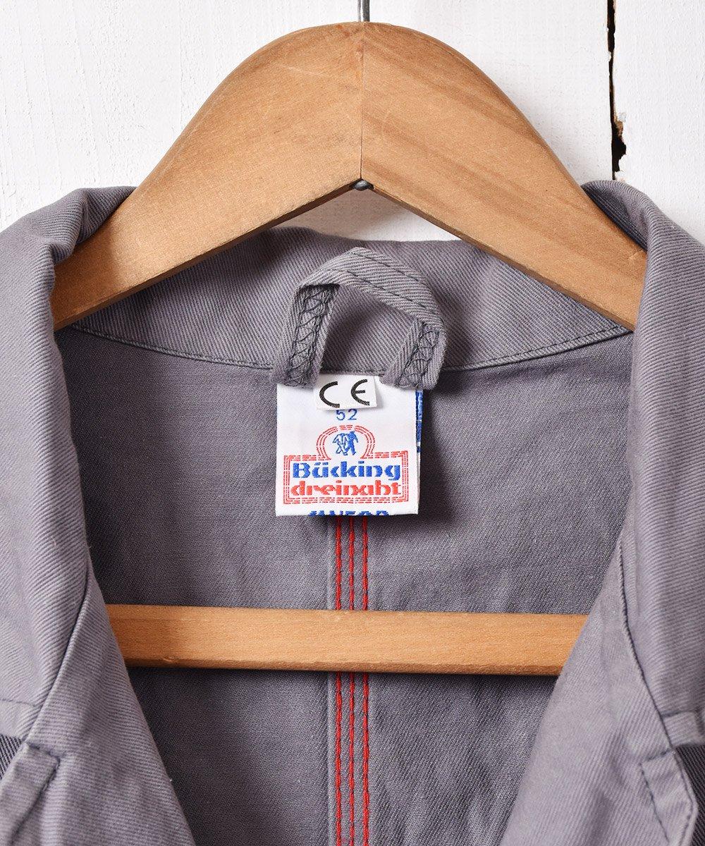 ヨーロッパ製 ワークコート グレーサムネイル