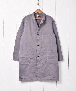 古着ヨーロッパ製 ワークコート グレー 古着のネット通販 古着屋グレープフルーツムーン