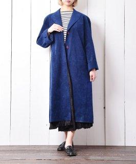 古着アメリカ製 ピーチスキンロングコート 古着のネット通販 古着屋グレープフルーツムーン