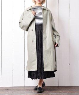 古着 ペールカラー ステンカラーコート ミントグリーン 古着のネット通販 古着屋グレープフルーツムーン