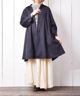 古着イタリア製 ステンカラーコート ネイビー 古着のネット通販 古着屋グレープフルーツムーン