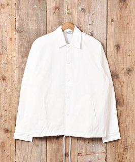 古着【3色展開】 「BACKERS」 コーチジャケット 無地  ホワイト 古着のネット通販 古着屋グレープフルーツムーン