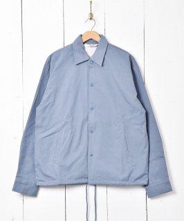 古着【3色展開】 「BACKERS」 コーチジャケット 無地  ブルー 古着のネット通販 古着屋グレープフルーツムーン