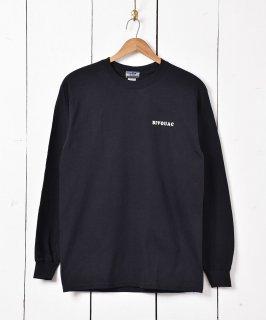 古着【3色展開】「BIVOUAC」 プリント ロングスリーブ Tシャツ ブラック 古着のネット通販 古着屋グレープフルーツムーン