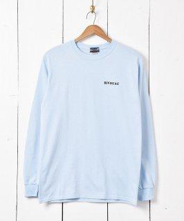 古着【3色展開】「BIVOUAC」 プリント ロングスリーブ Tシャツ サックス 古着のネット通販 古着屋グレープフルーツムーン