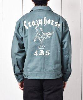 古着「Backers」グラス&ガール チェーンステッチ ワークワークジャケット 古着のネット通販 古着屋グレープフルーツムーン