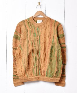 古着オーストラリア製「COOGI」3Dニットセーター 古着のネット通販 古着屋グレープフルーツムーン