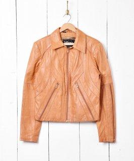 古着「Wilaowa」レザージャケット 古着のネット通販 古着屋グレープフルーツムーン