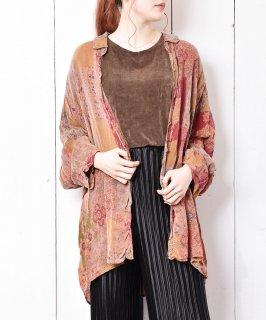 古着アメリカ製 総柄 後染めレーヨンシャツ 古着のネット通販 古着屋グレープフルーツムーン